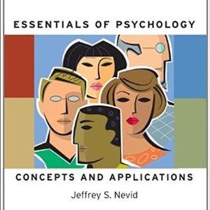 Essentials of Psychology Concepts & Applications